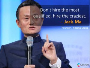 Jack Ma: Hire the craziest