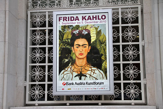 frida kahlo v bank austria kunstforum - november 2010
