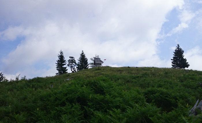 kapelica na Konečki planini
