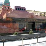 Leninov mavzolej na Rdečem trgu