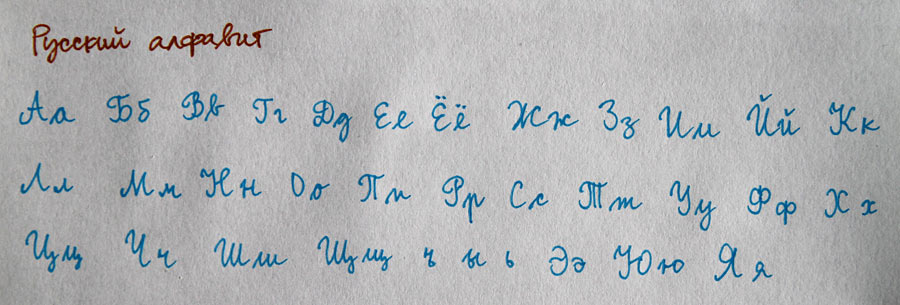 ruska abeceda, ruska cirilica, azbuka