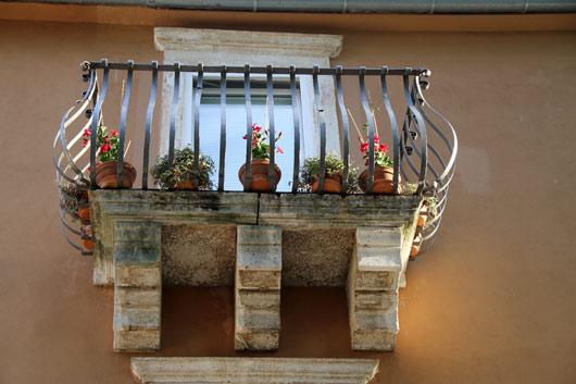 simpatični zadrski balkon